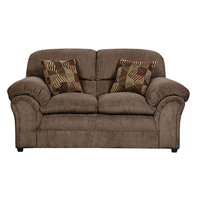Big Lots Loveseat by Simmons Chion Mocha Loveseat