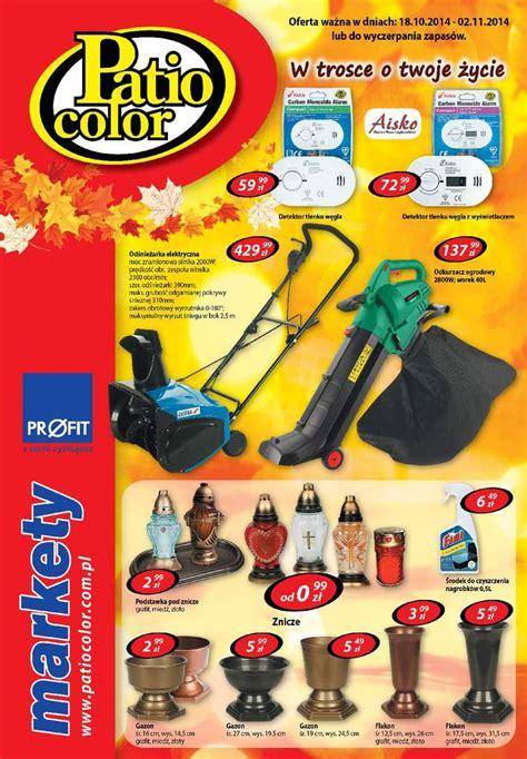 patio color gazetka promocyjna patio color okazjum pl s 1 9484