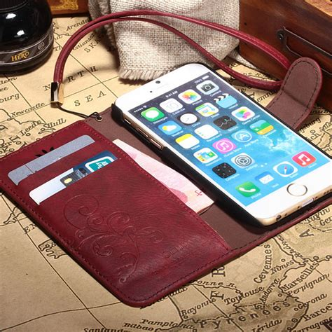 Op4482 For Iphone 6 6s Luxury Royal Retro Lizard Leather Kode Bi 1 luxury leather wallet stand flip cover vintage for iphone 5 5s 6 6s plus ebay