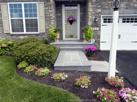 how to transform your cracked concrete steps into a warm