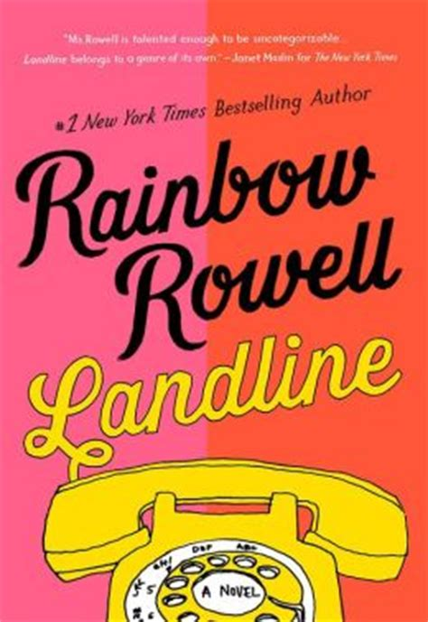 Landline Oleh Rainbow Rowell 1 landline by rainbow rowell nook book ebook paperback hardcover audiobook barnes noble