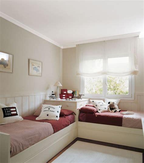 habitaciones juveniles con dos camas habitaci 243 n infantil con dos camas en l dormitorios