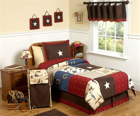 boy bed sets kids cowboy bedding for boys twin full queen comforter
