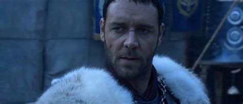 film gladiator which was released in 2000 photo of russell crowe who portrays quot maximus quot from
