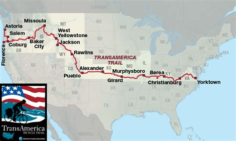 us running routes trails groups events and races transamerica trail adventure cycling route network