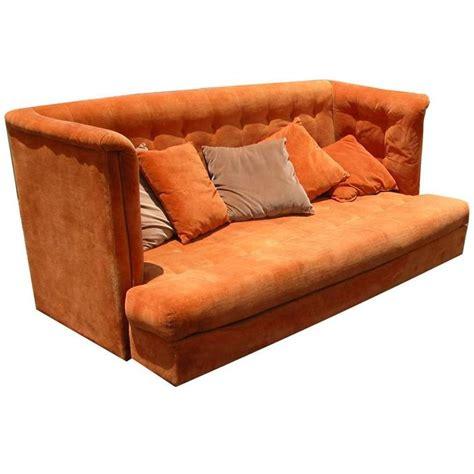 shelter sofa vintage mid century shelter sofa milo baughman thayer