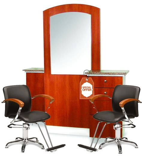 salon and station combo salon styling station and 2 combo wild cherry 1