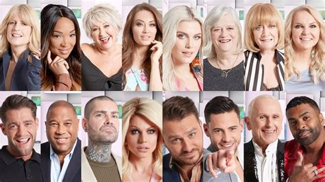 whos on celeb bb celebrity big brother 2018 five housemates immune from