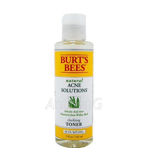 Toner Acnes anthong burt s bees acne clarifying toner at low price