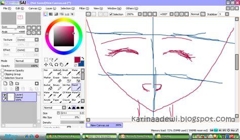 tutorial menggambar di paint tool sai miyazaki karin s tutorial digital menggambar