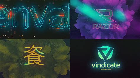 Cyberpunk Glitch Logo Reveal Technology After Effects Templates F5 Design Com Bourne Identity Style Free After Effects Template