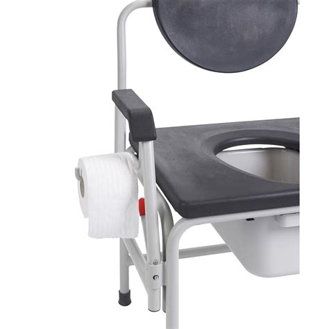 Large Bedside Commode by Drive Large Heavy Duty