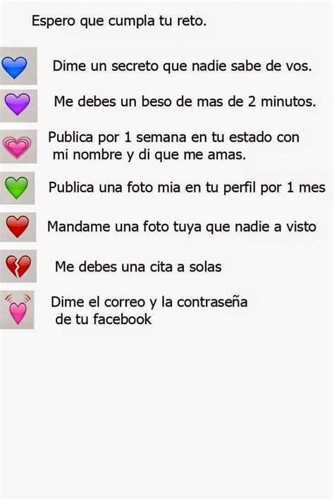 cadenas de preguntas zarpadas para wasap imagenes de amor para whatsapp retos para whatsapp
