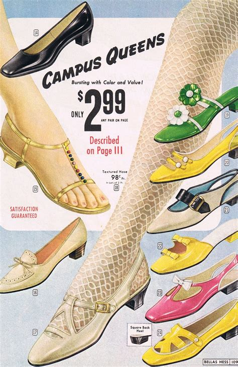 Flat Shoes Vintage Ad F02 Murahmodis 17 best images about vintage shoes on white blue shoes heels pumps and janes