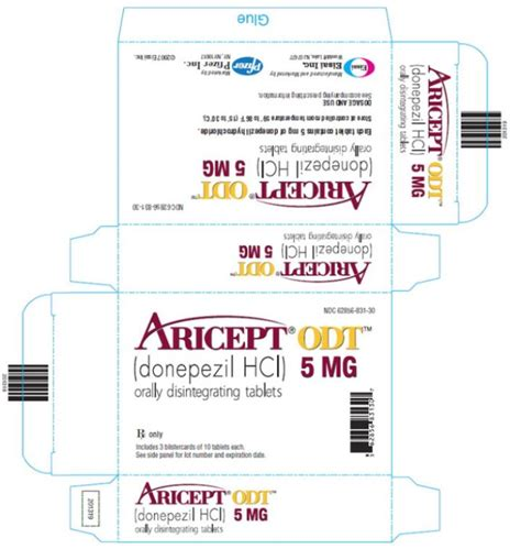 Aricept 5mg Eisai aricept fda prescribing information side effects and uses