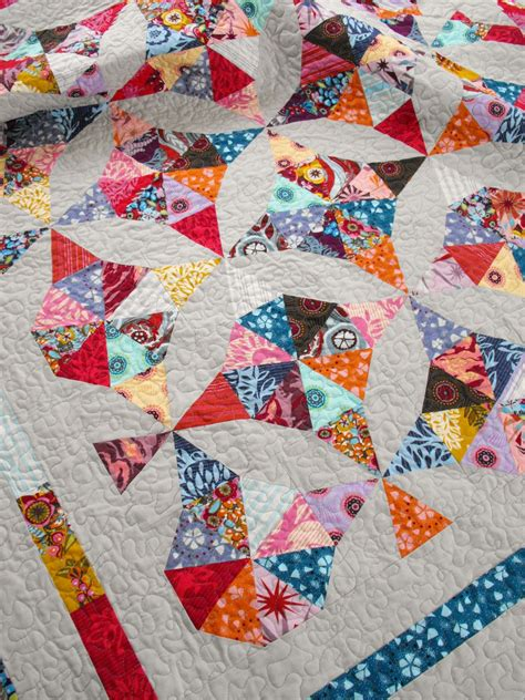 Kaleidoscope Quilting by Quilt Story Fussy Cut S Kaleidoscope Quilt