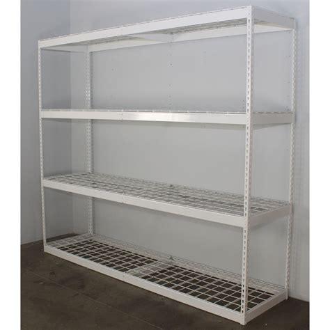 Garage Shelving Freestanding Garage Shelving Storage Racks And Shelves Saferacks