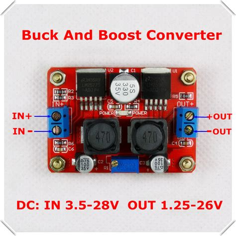 Kit Dual Auto Buck Boost Step Up Xl6009 Converter aliexpress buy dc dc adjustable step up and step