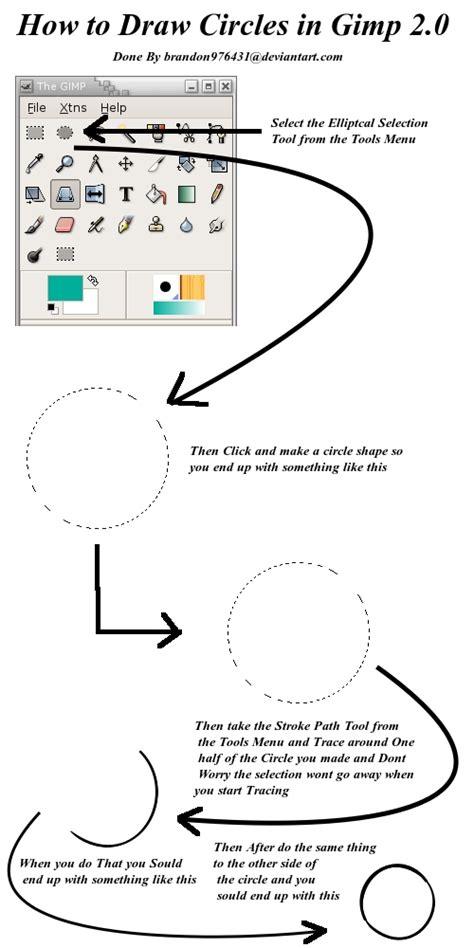 gimp tutorial text in a circle how to draw gimp