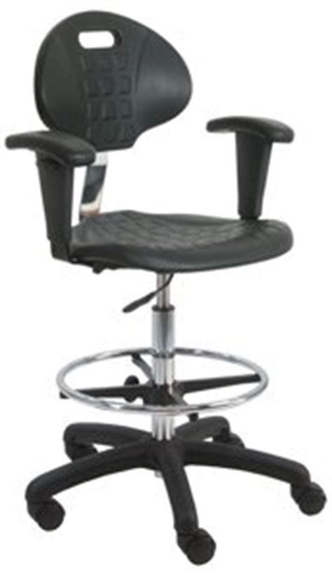 Workbench Chairs by Benchpro Lnt Uc Aa Deluxe Polyurethane Cleanroom Lab Chair Workbench Stool With