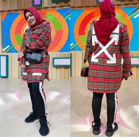 Lebaran Keren Flannel Shirt For Flanel Hijau Kombinasi Sht 487 5 inspirasi gaya sporty ala astrid kuya aura co id