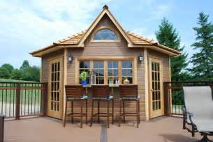 how to build a pool house five sided shed summerstyle