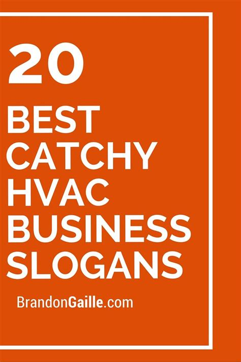 Plumbing Catch Phrases by 21 Best Catchy Hvac Business Slogans Business Slogans 20 Quot And Business