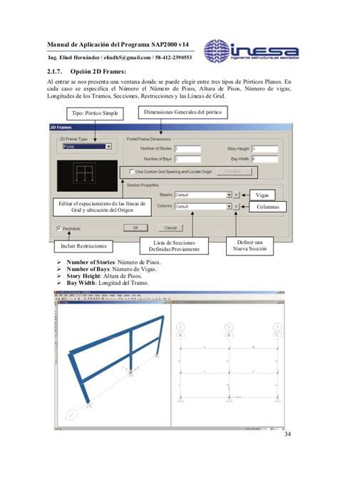 tutorial sap2000 v14 pdf manual de sap2000 v14