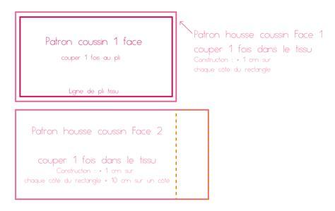 Comment Faire Housse De Coussin comment faire sa housse de coussin sur mesure le tuto