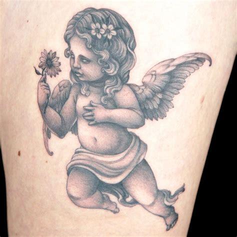 elimination tattoo black amp grey cherubs ink master