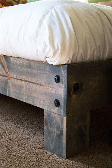 recycled door headboard best 25 diy bed frame ideas only on pinterest pallet