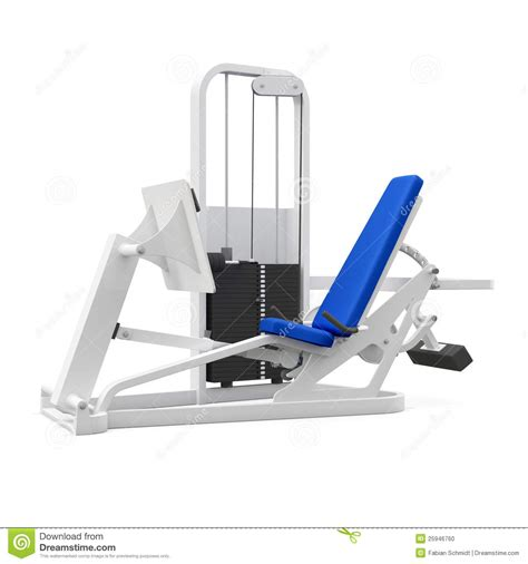legacy ses weight bench weight bench for legs stock photo image 25946760