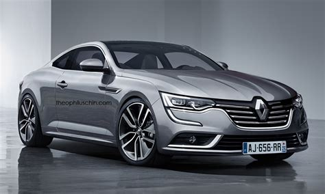renault talisman given a coupe style in digital land