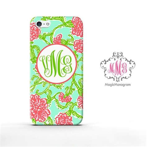 Lilly Pulitzer Summer Ipod 4 Touch Ipod 5 Touch Casing Hp Cover monogram iphone 5 alpha chi omega custom lilly