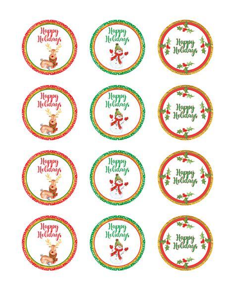 printable jar stickers christmas gift giving free printables onion rings things