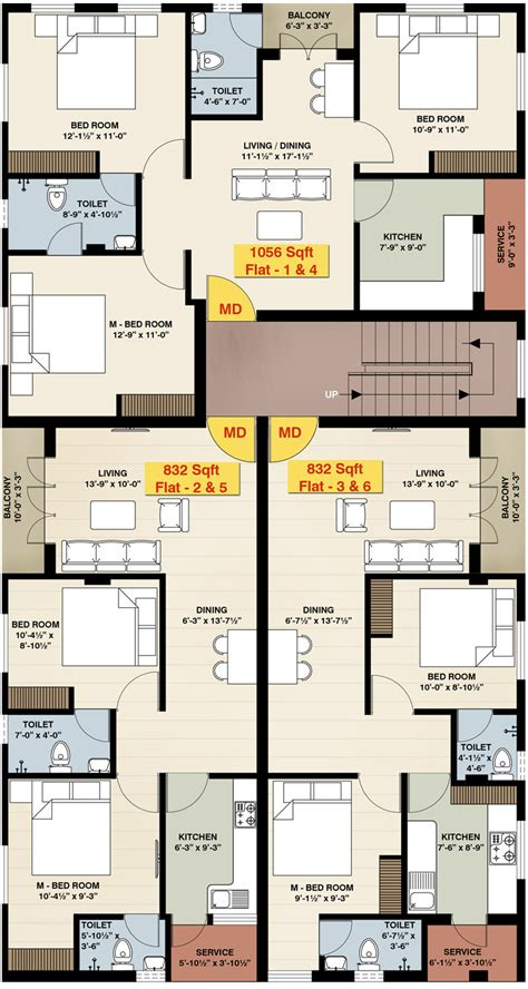 3 bhk floor plan floor plans 2 3 bhk residential apartments at iyyanthangal luxamcc