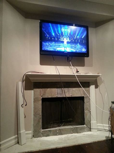 tvs the o jays and fireplaces on