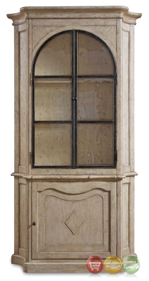 antique white curio cabinet firenze ii tuscan alder and oak curio cabinet in antique white