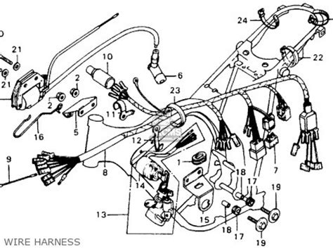 28 wiring diagram for 1974 honda xl100 188 166 216 143