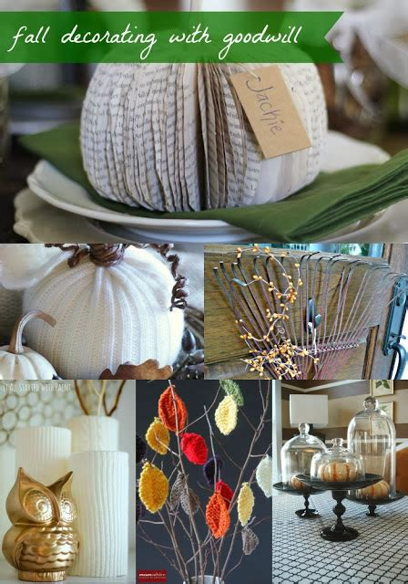 how to decorate your home from the goodwill and dollar goodwill tips 6 ways to decorate your home for fall with