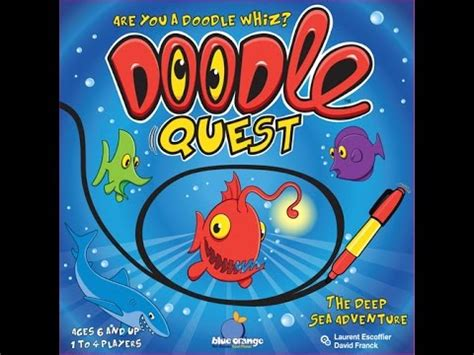 Doodle Quest Review Board Brawl