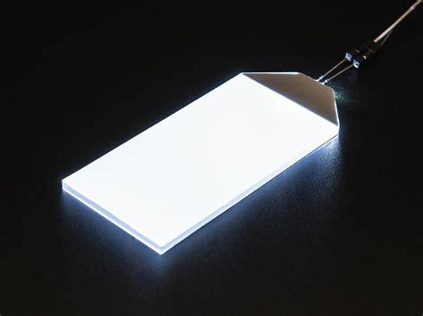 Led White white led backlight module large 45mm x 86mm id 1621