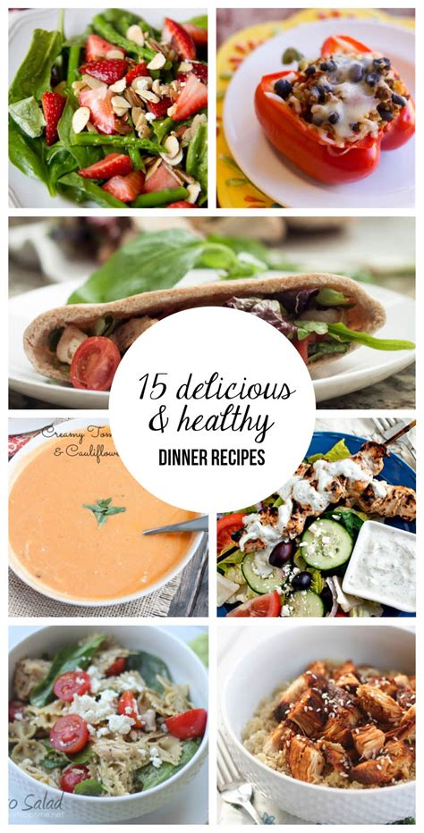 healthy dinner ideas food healthy dinner recipes
