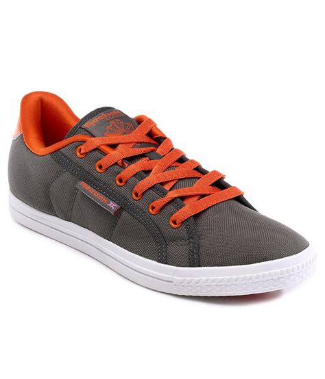 reebok gray canvas shoe shoes price in india buy reebok