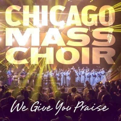"""chicago mass choir releases new single""""thank you, thank"""