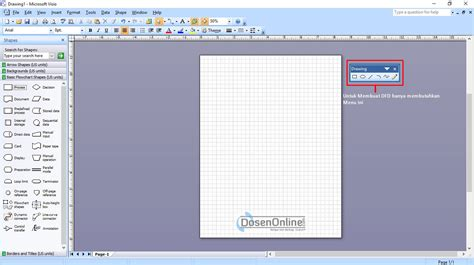 membuat dfd di visio 2013 cara mudah membuat dad atau dfd dengan visio 2007