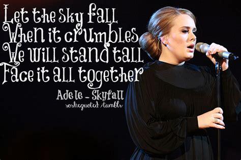 adele skyfall lyrics so she quoted adele skyfall