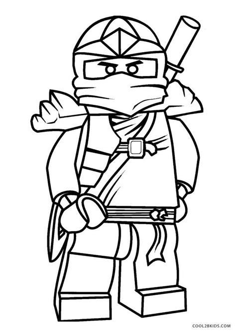 coloring page free printable ninjago coloring pages for cool2bkids