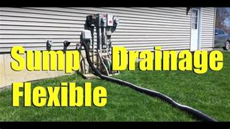Water In Basement Solutions - sump pump warm weather drainage solution youtube
