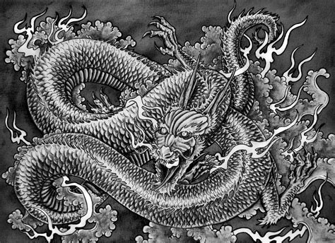 Oriental Wall Murals japanese dragon by muppza on deviantart